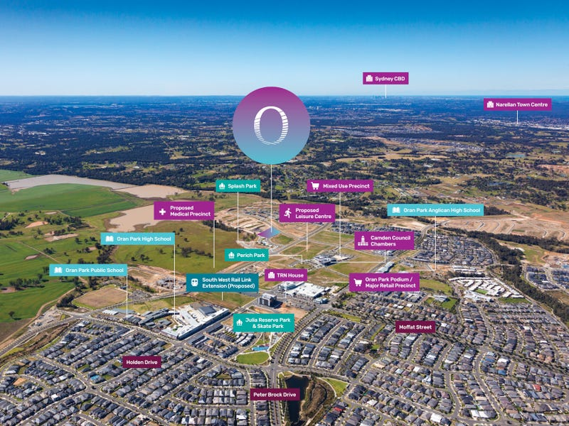 . Dransfield Drive, Oran Park, NSW 2570