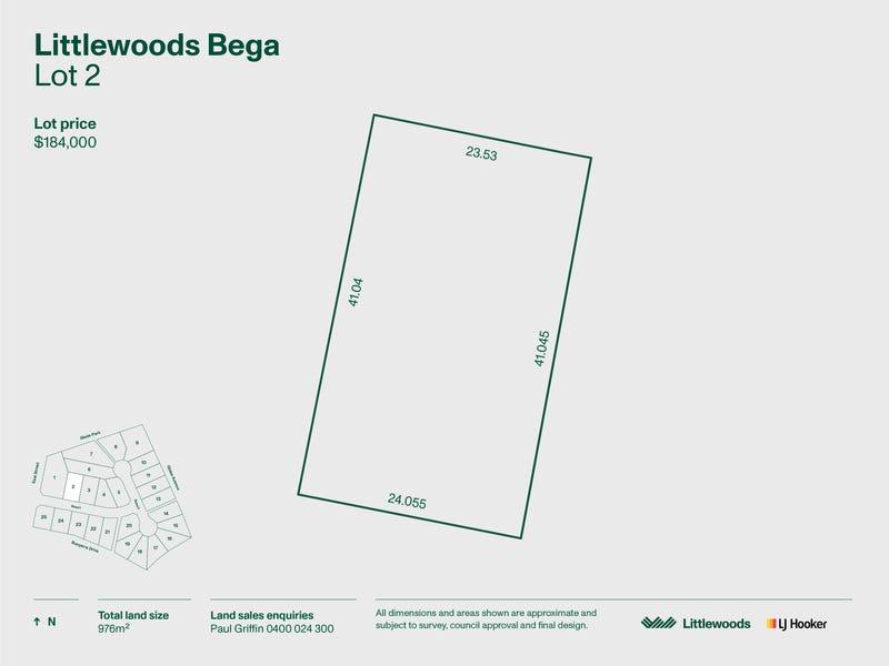 Lot 2 Littlewood Estate, Bega, NSW 2550