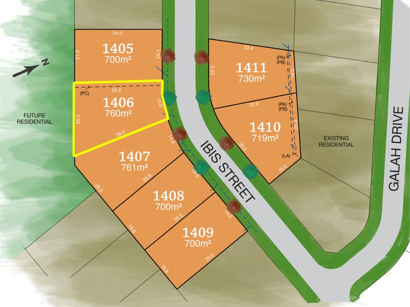 Lot 1406, Ibis Street, Tamworth, NSW 2340