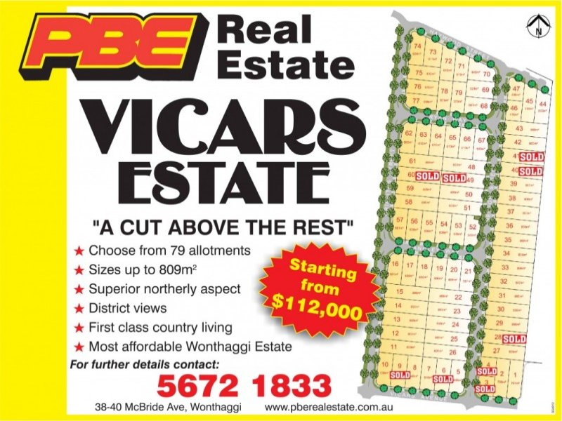 Lot 12 Vicars Estate, Wonthaggi, Vic 3995