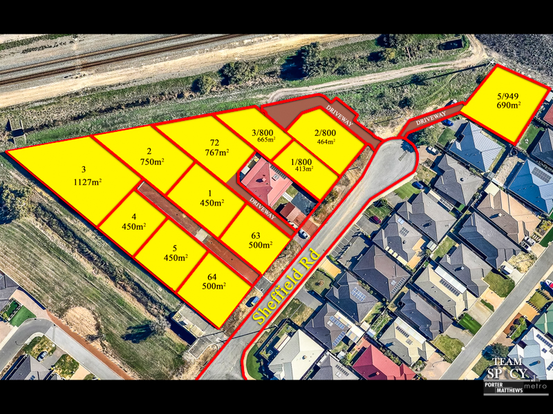 Various Lots Sheffield Road, Wattle Grove, WA 6107