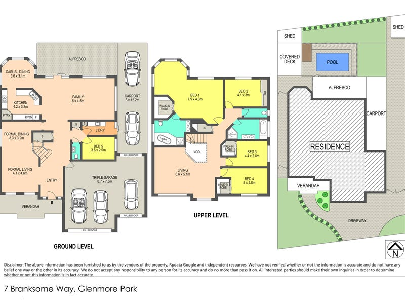 7 Branksome Way, Glenmore Park, NSW 2745 - floorplan
