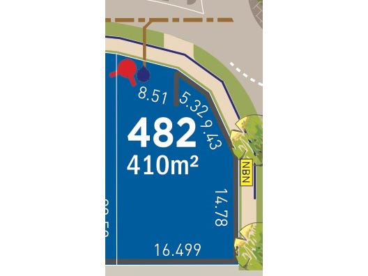 Lot 482, BLOOMFIELD PARKWAY, Baldivis, WA 6171