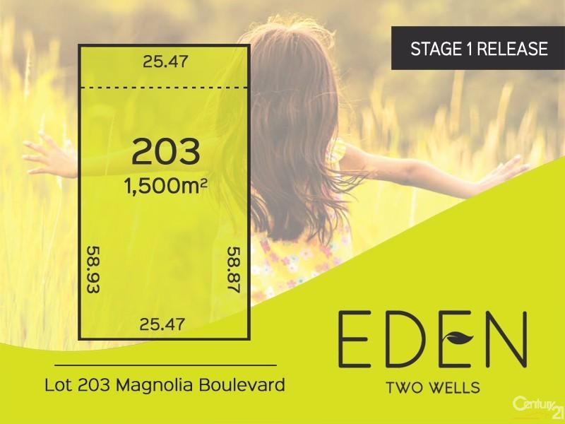 Lot 203 Magnolia Boulevard, Two Wells, SA 5501
