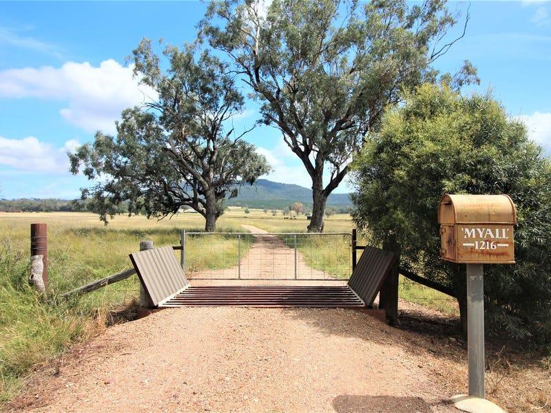 "1216 (""Myall"") Wandobah Road, Gunnedah, NSW 2380"