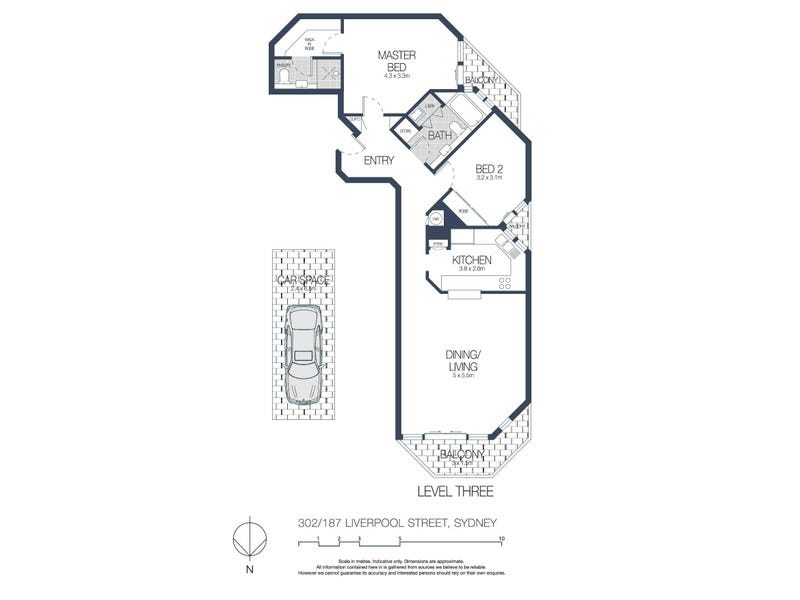 302/187 Liverpool Street, Sydney, NSW 2000 - floorplan