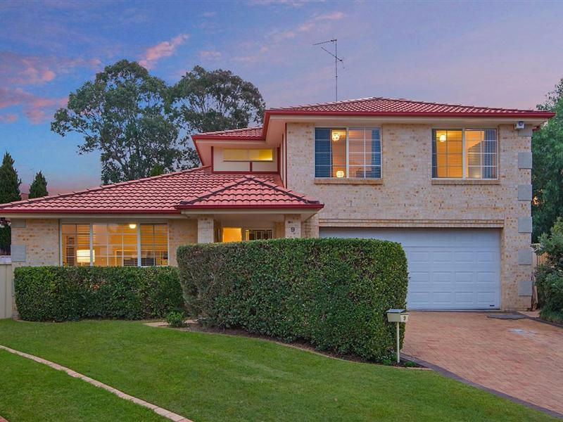 9 Karinya Place, Kellyville, NSW 2155