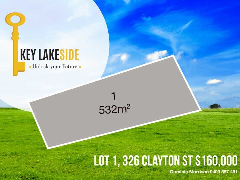 Lot 1, 326 Clayton Street, Ballarat, Vic 3350