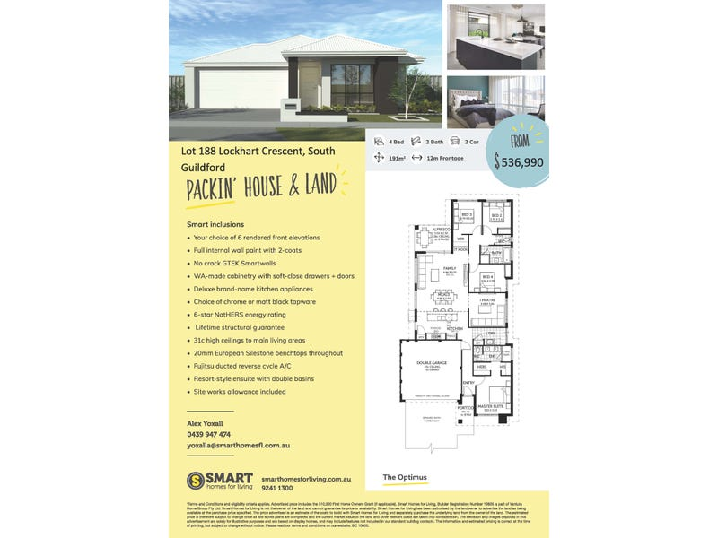 Lot 188, Lockhart Crescent, South Guildford, WA 6055