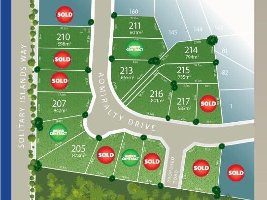 Lot 203 Admiralty Drive - Stage 11, Safety Beach, NSW 2456