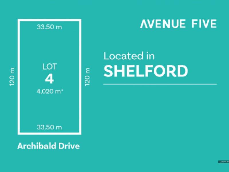 Lot 4, Archibold Drive, Shelford, Vic 3329