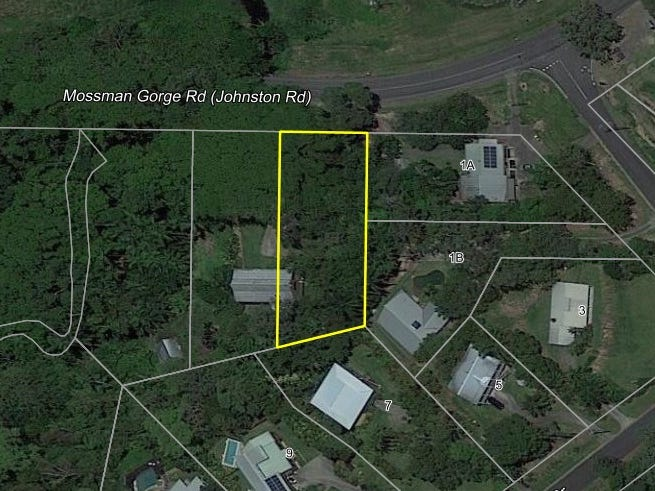Lot 3. Gorge Road, Mossman, Qld 4873