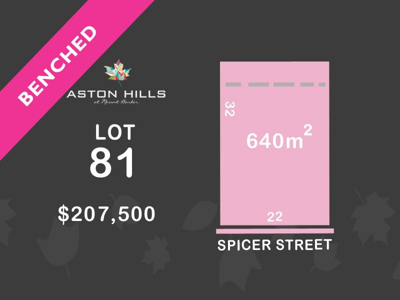 Lot 81, Spicer Street (Aston Hills), Mount Barker, SA 5251