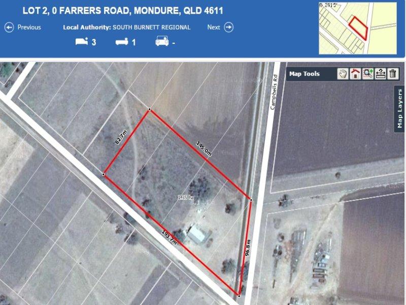 Lot 3 Farrers Road, Mondure, Qld 4611