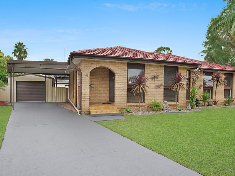 4 Belbowrie Glen, St Clair, NSW 2759