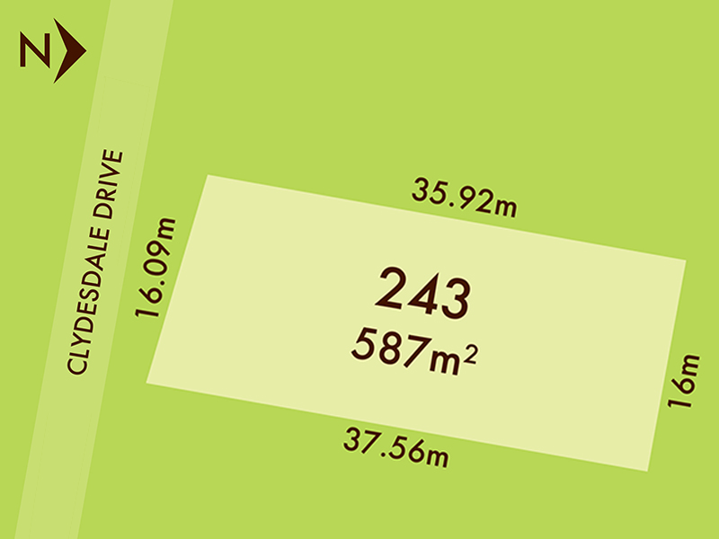 Lot 243, 14 Clydesdale Drive, Bonshaw, Vic 3352