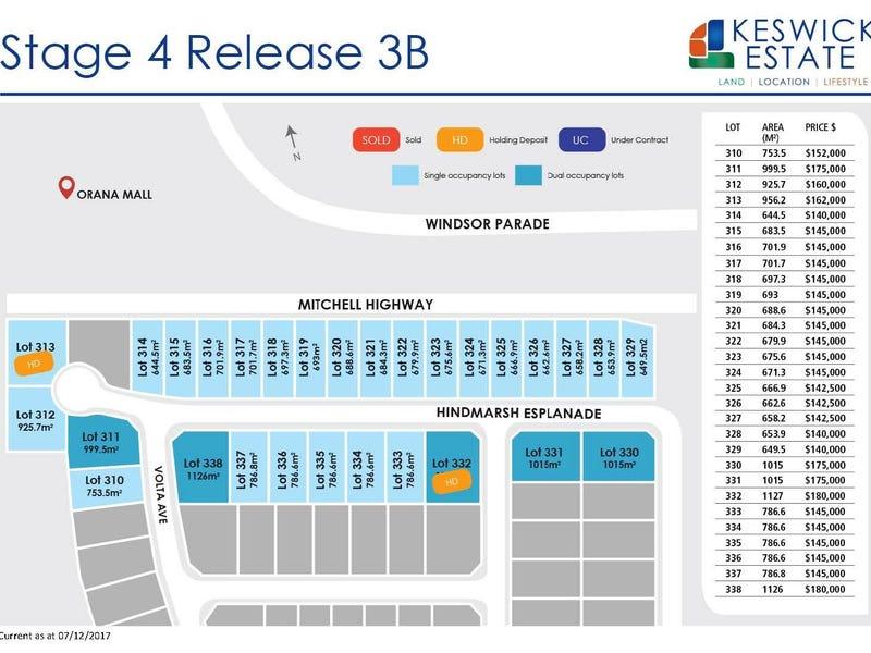 Keswick Estate Stage 4 Release 3b, Dubbo