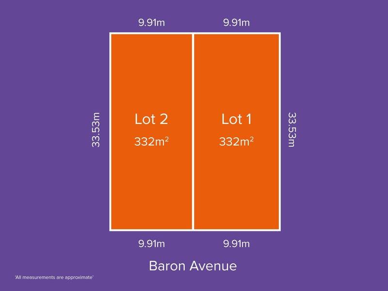 Lot 1 & 2, 18 Baron Avenue, Ingle Farm, SA 5098