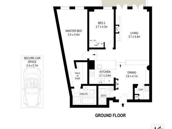 G03,23 Colgate Avenue, Balmain, NSW 2041 - floorplan