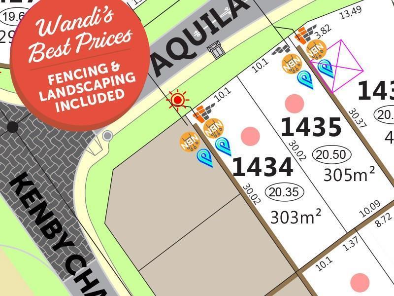 Lot 1434, 6  Aquila Drive, Wandi, WA 6167