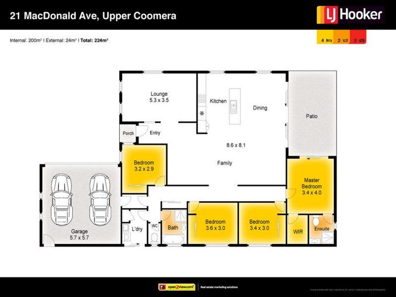 21 Macdonald Avenue, Upper Coomera, Qld 4209