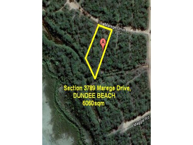 Section 3789 Marege Drive, Dundee Beach, NT 0840