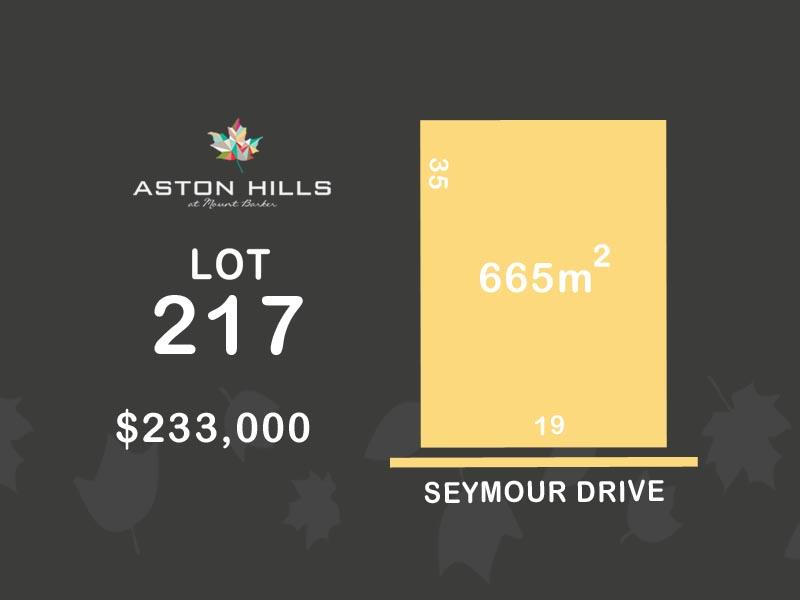Lot 217, Seymour Drive (Aston Hills), Mount Barker, SA 5251