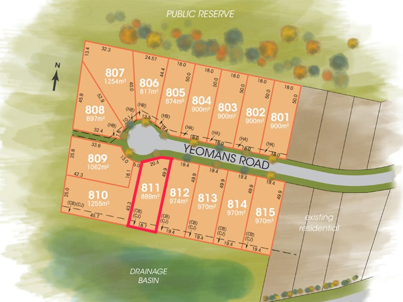 Lot 811, The Foothills Estate, Armidale, NSW 2350