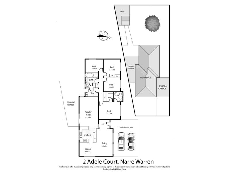 2 Adele Close, Narre Warren, Vic 3805 - floorplan