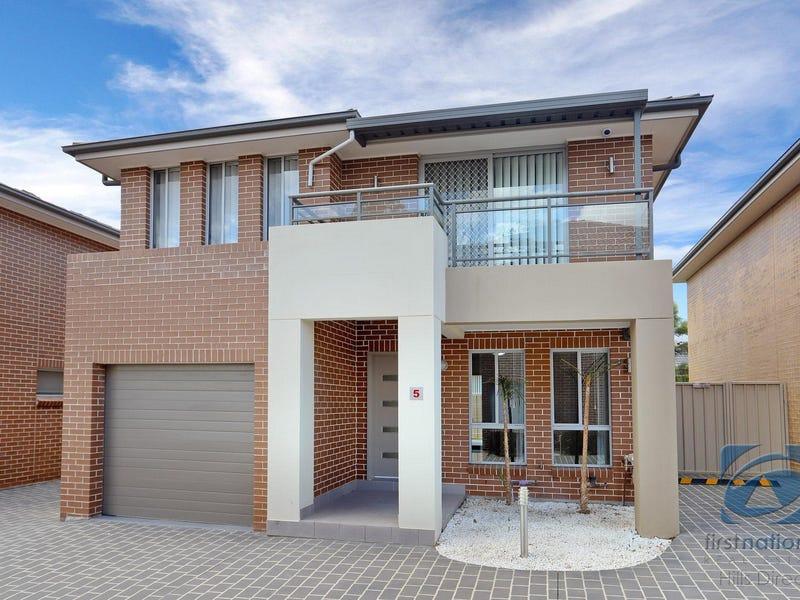 5/41 Rosebrook Avenue, Kellyville Ridge, NSW 2155