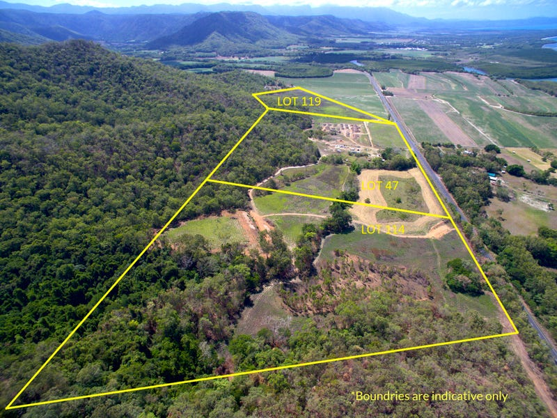 Lot 47,114,119 Captain Cook Highway, Mowbray, Qld 4877