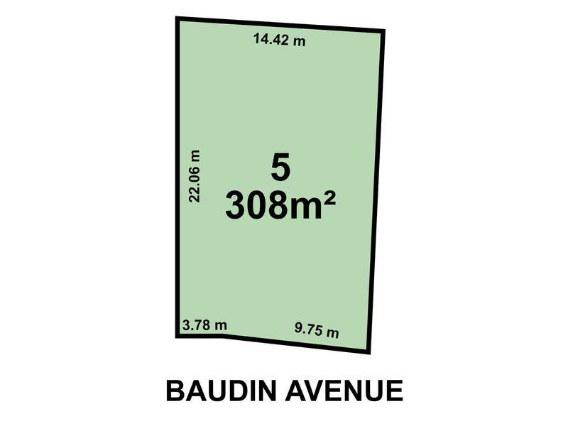 Lot 5,  1B Baudin Avenue, Fairview Park, SA 5126