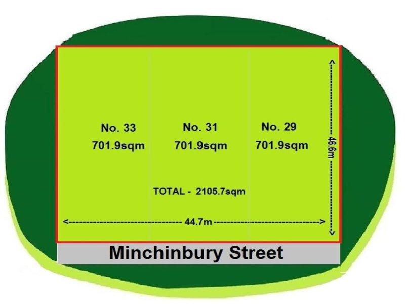 29, 31, 33 Minchinbury Street, Eastern Creek, NSW 2766