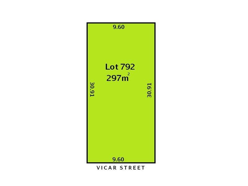 Lot 792, 8 Vicar Street, Gilles Plains, SA 5086