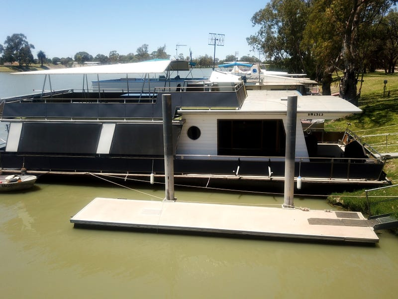 23 Old Ferry Road - Houseboat 'Swan 18', Berri, SA 5343