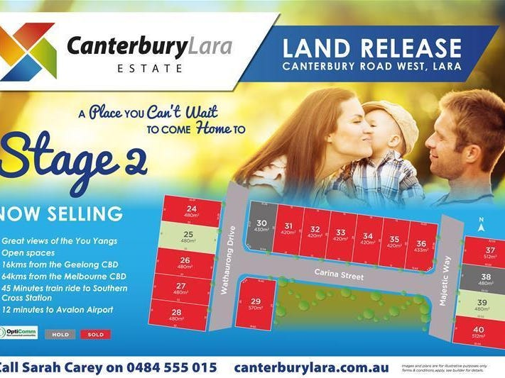 50 Canterbury Road West (Canterbury Lara Estate) Stage 2, Lara, Vic 3212