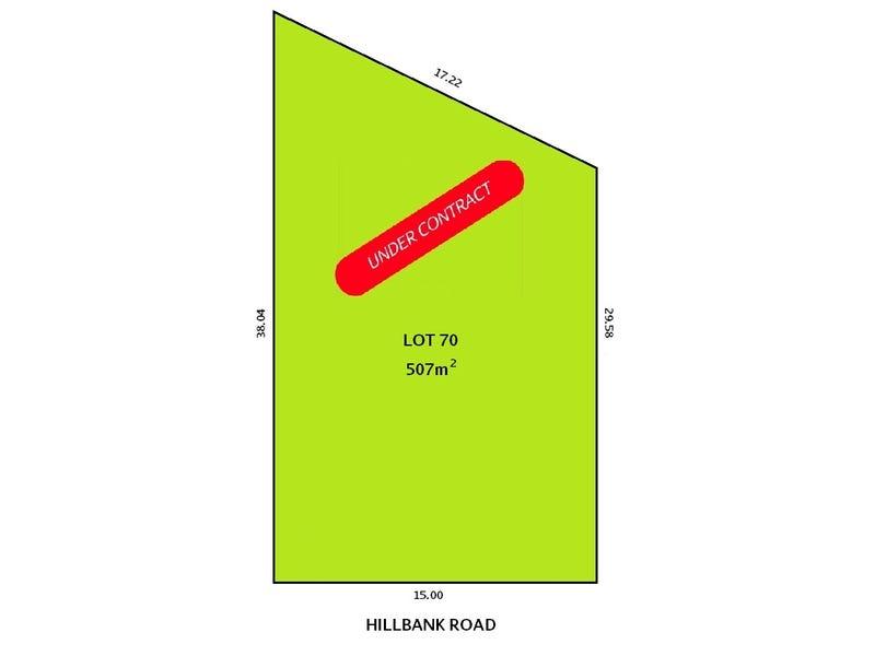 Lot 70., Hillbank Road, Hillbank, SA 5112
