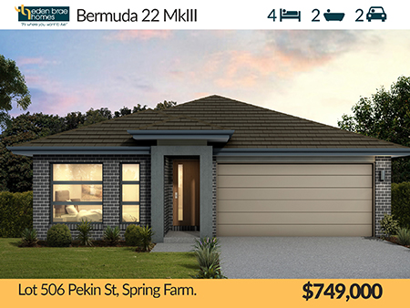 Lot 506 Pekin Street, Spring Farm, NSW 2570
