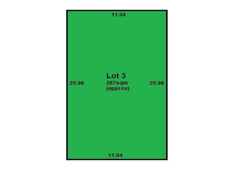 Lot 3, Allotment 52 Willcocks Avenue, Seaton, SA 5023