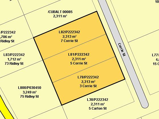 3,5,7 Corrie Street, Cuballing, WA 6311