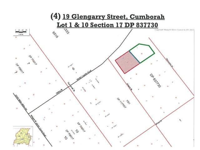 Lots 1 & 10, 19 Glengarry Street, Cumborah, NSW 2832