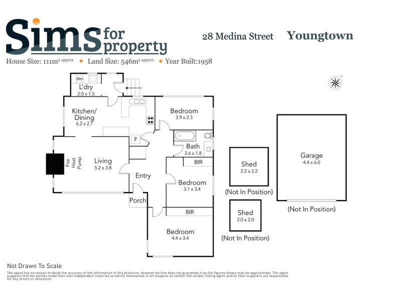 28 Medina Street, Youngtown, Tas 7249 - floorplan