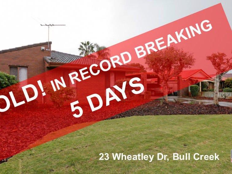 23 Wheatley Drive, Bull Creek, WA 6149