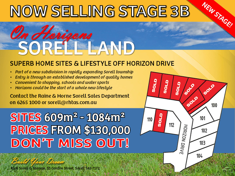 Lot 100 Horizon Drive, Sorell, Tas 7172