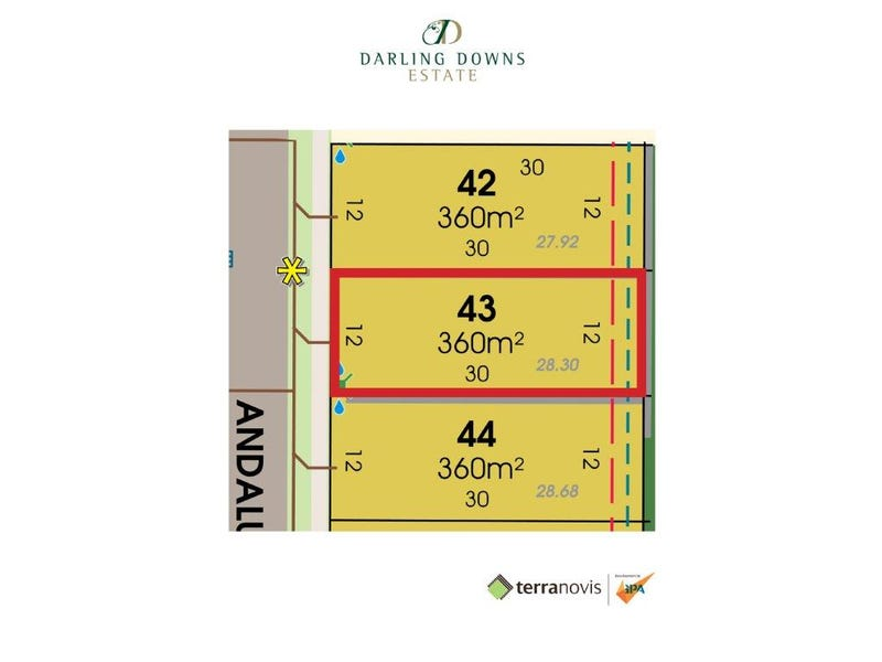 Lot 43 Andalusian Avenue, Darling Downs
