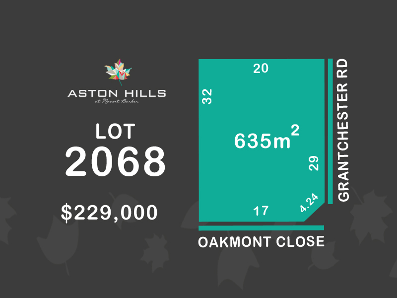 Lot 2068, Oakmont Close (Aston Hills), Mount Barker, SA 5251
