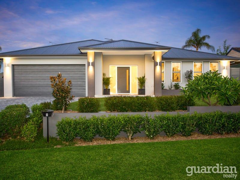 8 Buckeridge Place Kellyville NSW 2155 & 8 Buckeridge Place Kellyville NSW 2155 - Property Details