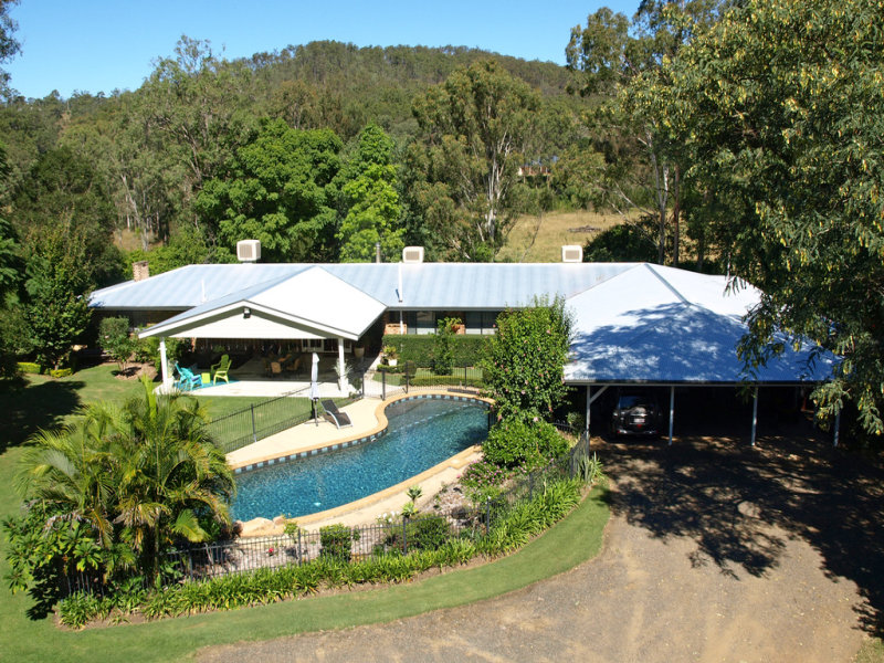 """Crystal Waters"" 23 Donnellys Road, Murphys Creek, Qld 4352"