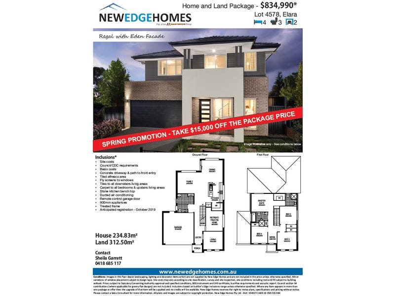 Lot 4578 Proposed Road (Elara), Marsden Park, NSW 2765