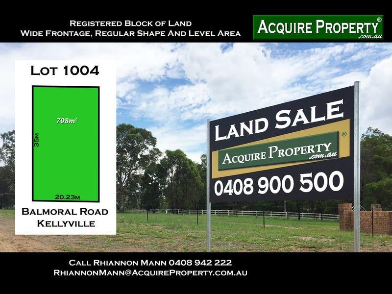 Lot 1004, Lot 1004 Balmoral Road, Kellyville, NSW 2155